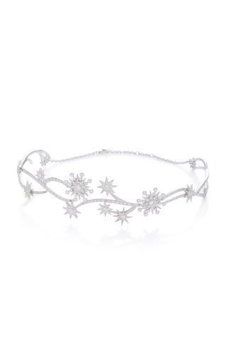 COLETTE JEWELRY | Colette Jewelry 18K White Gold Diamond Choker | Goxip