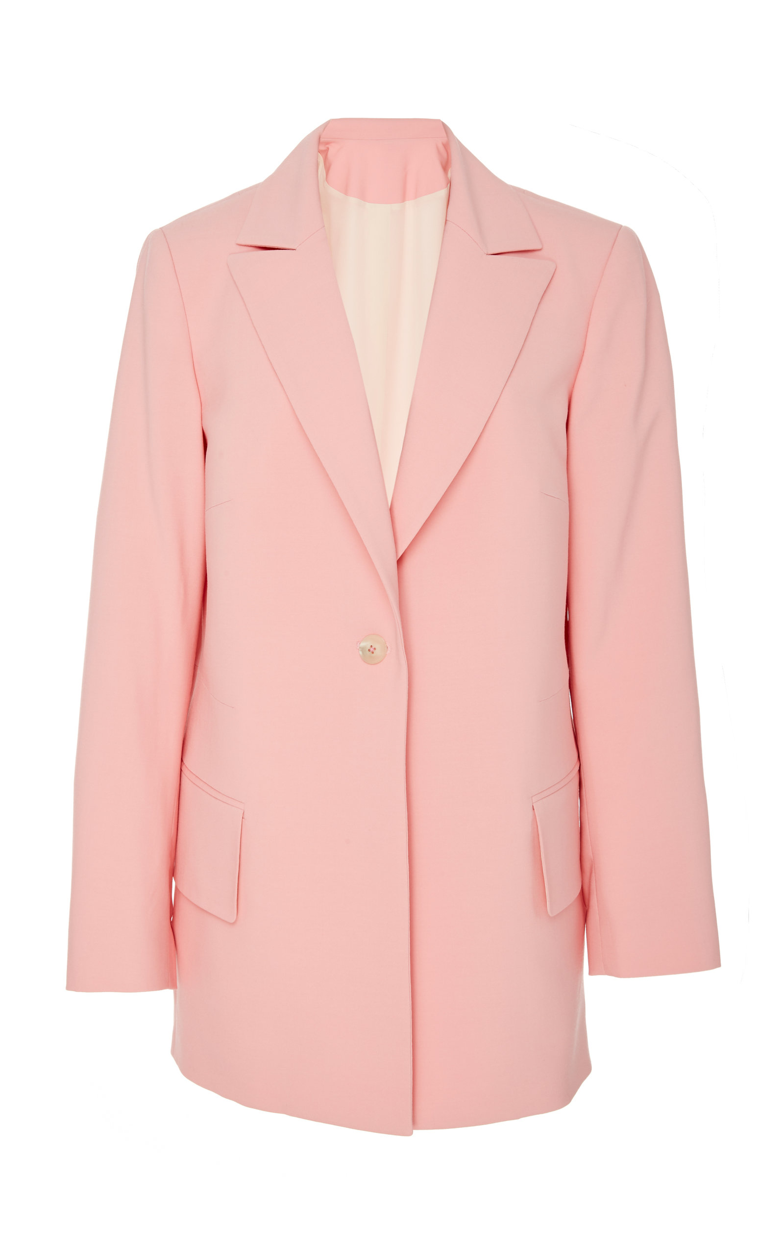 PARTOW | Partow Brody Virgin Wool-Blend Blazer Jacket | Goxip