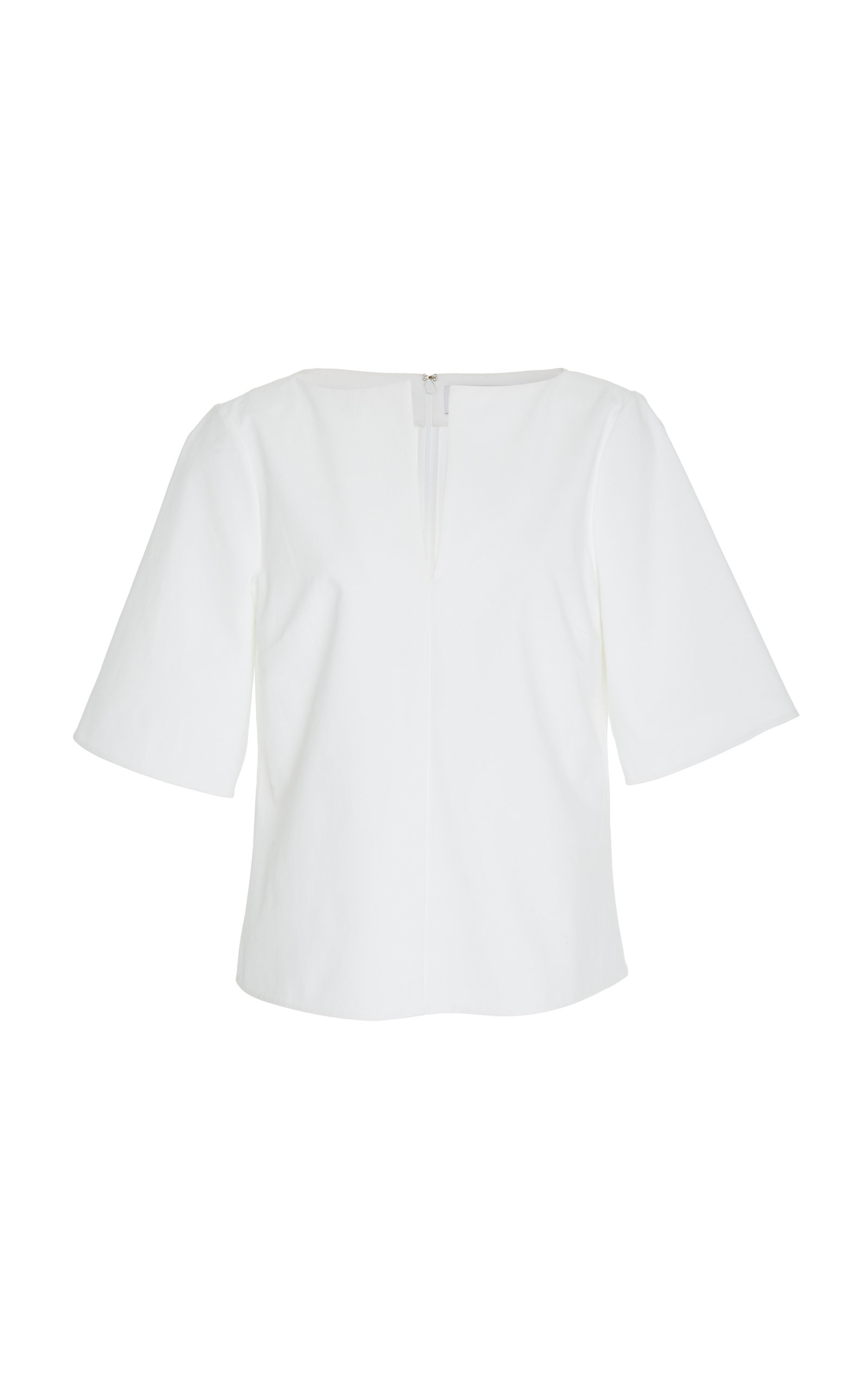 Partow BRANT CROPPED STRUCTURED TOP
