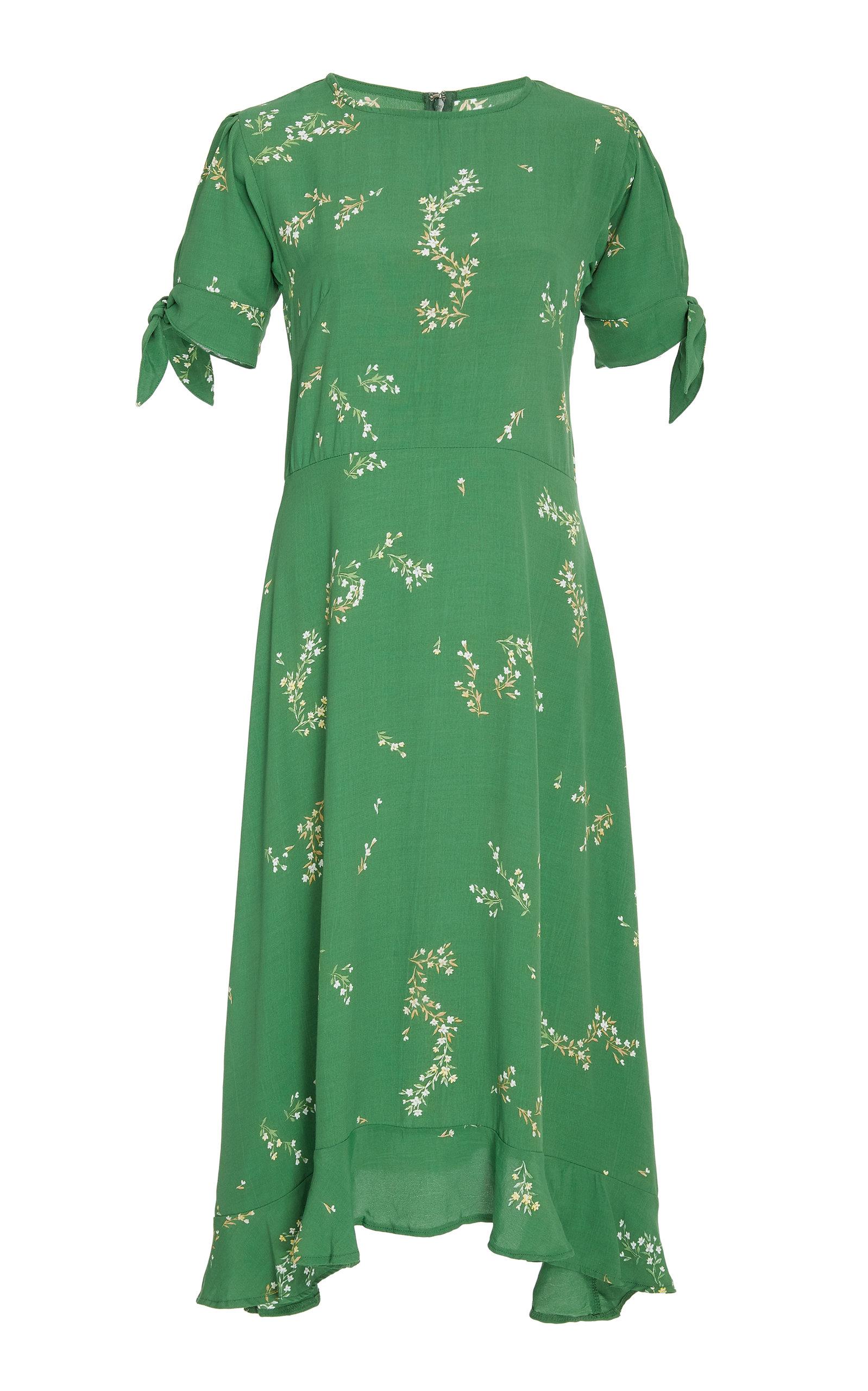 564459d7a73a Emilia Crepe De Chine Midi Dress by Faithfull The Brand   Moda Operandi
