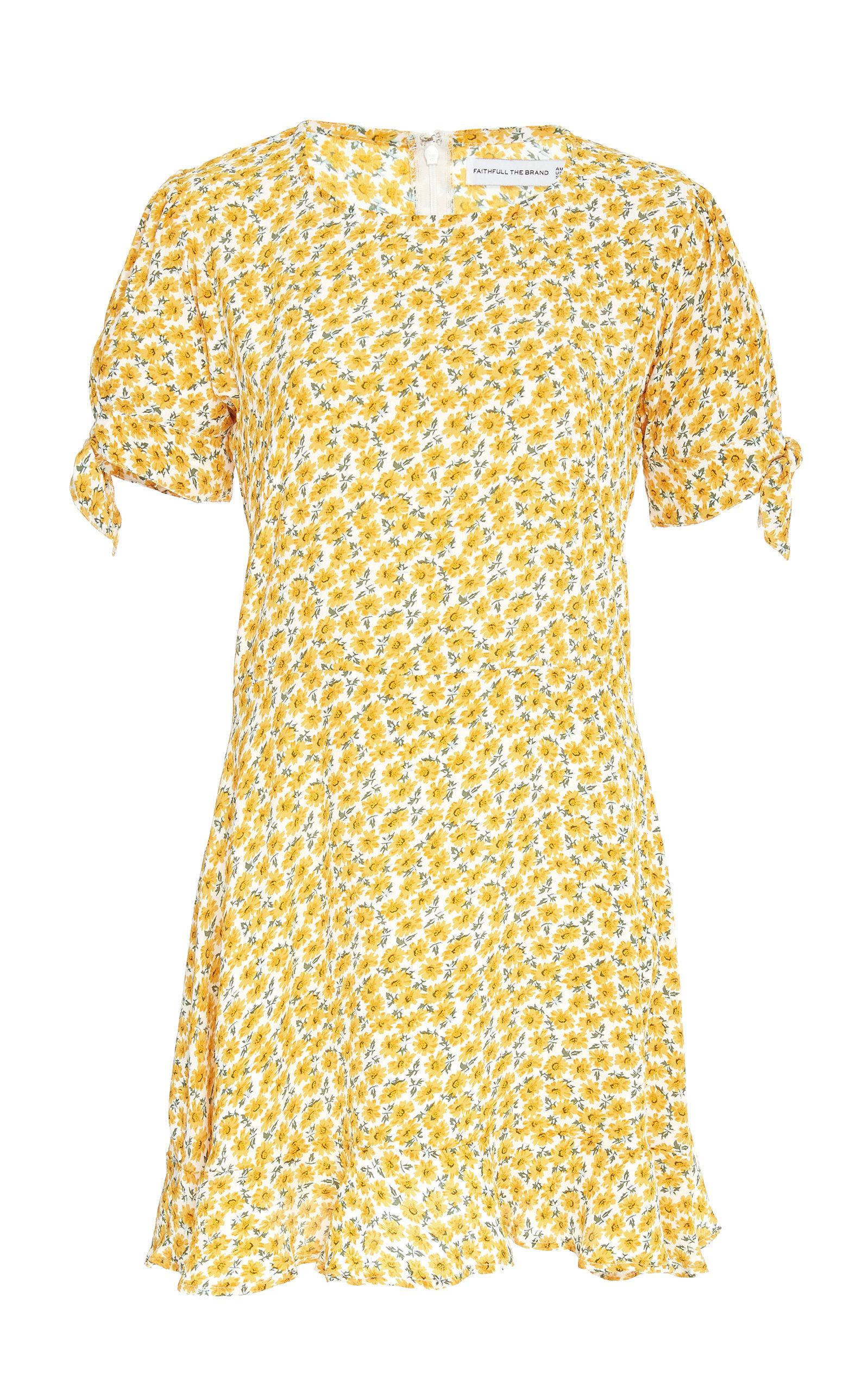 FAITHFULL THE BRAND | Faithfull The Brand Daphne Floral Mini Dress | Goxip