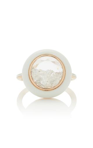 MORITZ GLIK | Moritz Glik 18K Rose Gold Diamond Ring | Goxip