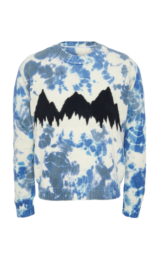 Elder · Preorder Sweater Intarsia Statesmanexclusive Tie The Dye Cashmere Mountain c1E7C1