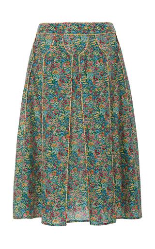 ZAC POSEN | Zac Posen Liberty Cotton Skirt | Goxip