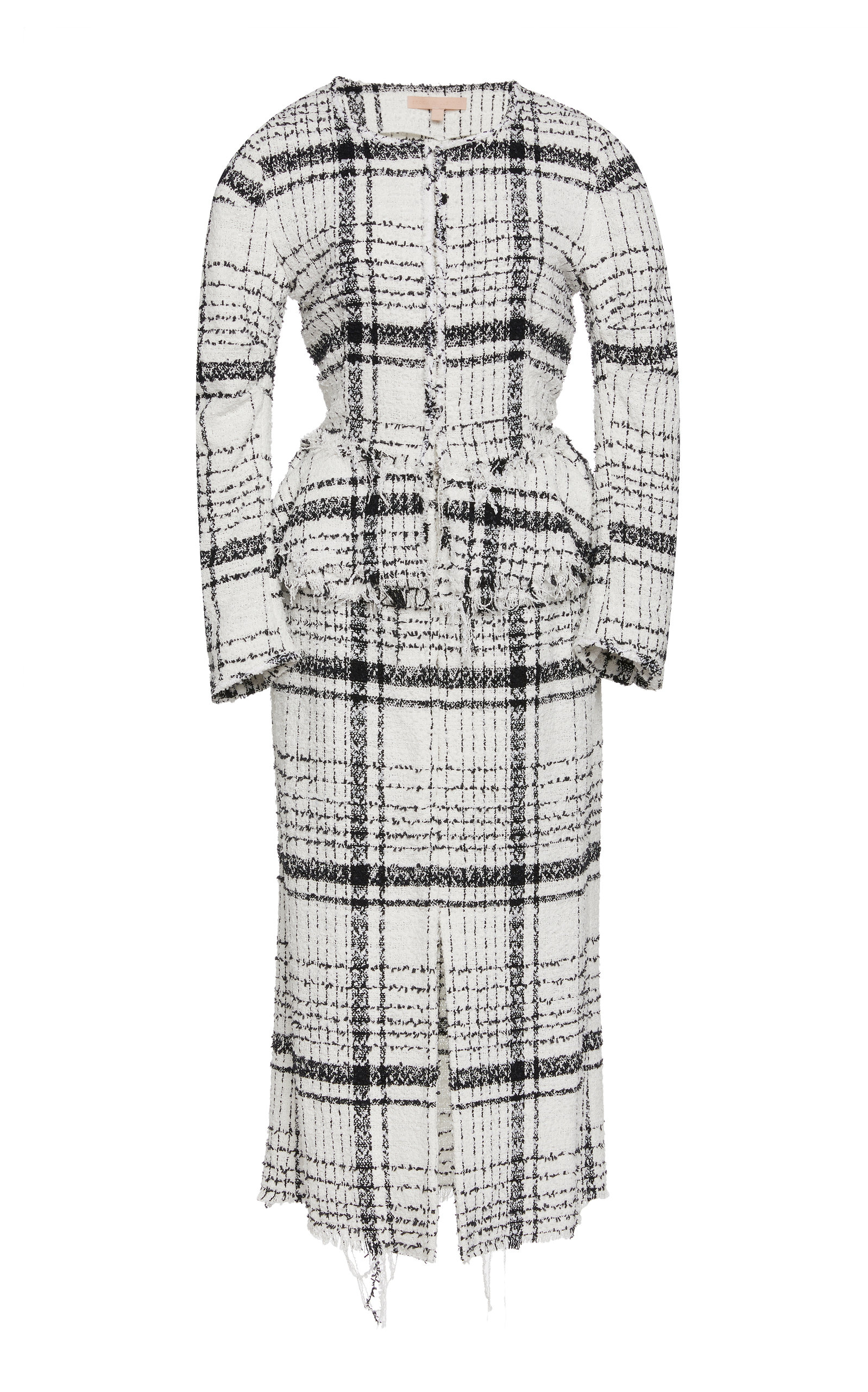 3d609b353e Ostris Long-Sleeve Tweed Dress by Brock Collection | Moda Operandi