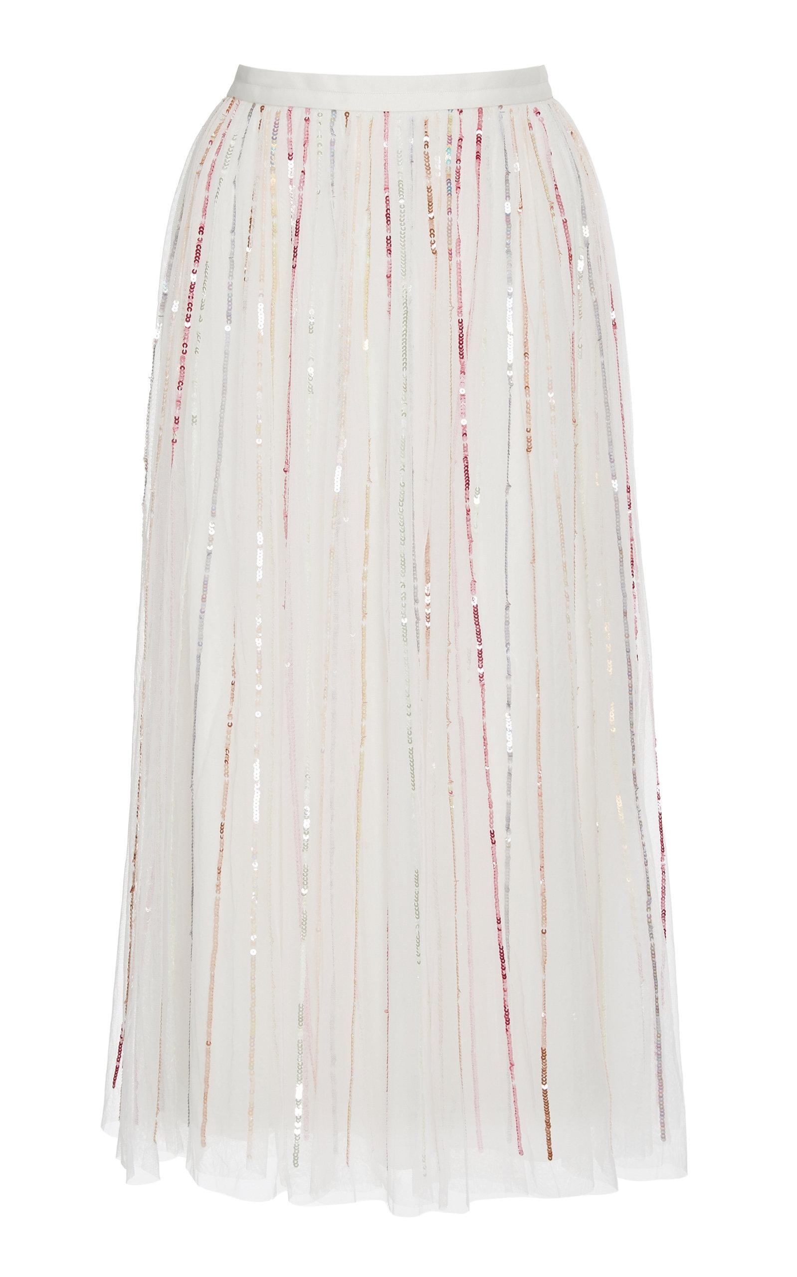 f36fa8806b Midaxi shimmer sequin skirt by Needle & Thread | Moda Operandi