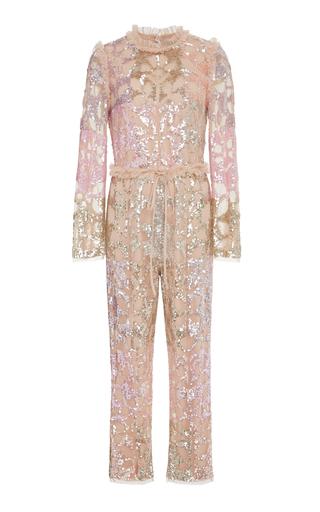 NEEDLE & THREAD   Needle & Thread tiled sequin jumpsuit   Goxip