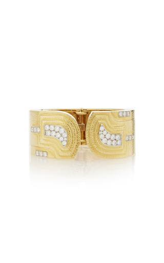 DAVID WEBB | David Webb 18K Gold Bracelet | Goxip