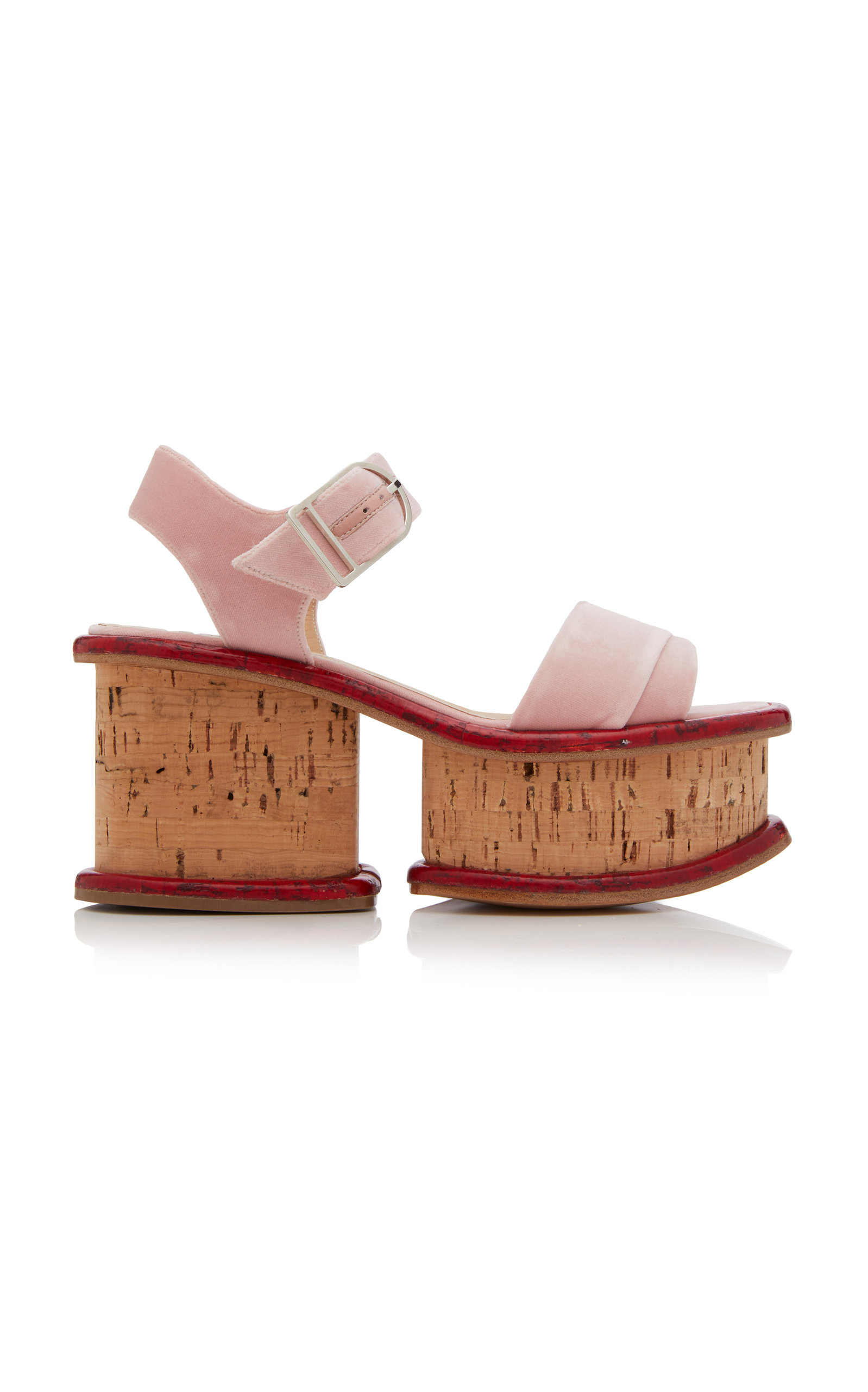 GABRIELA HEARST | Gabriela Hearst Harrigan Platform Sandals | Goxip