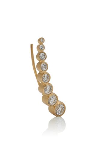 e04d32411 Sophie Bille BraheCroissant Claire 18K Gold Diamond Earring