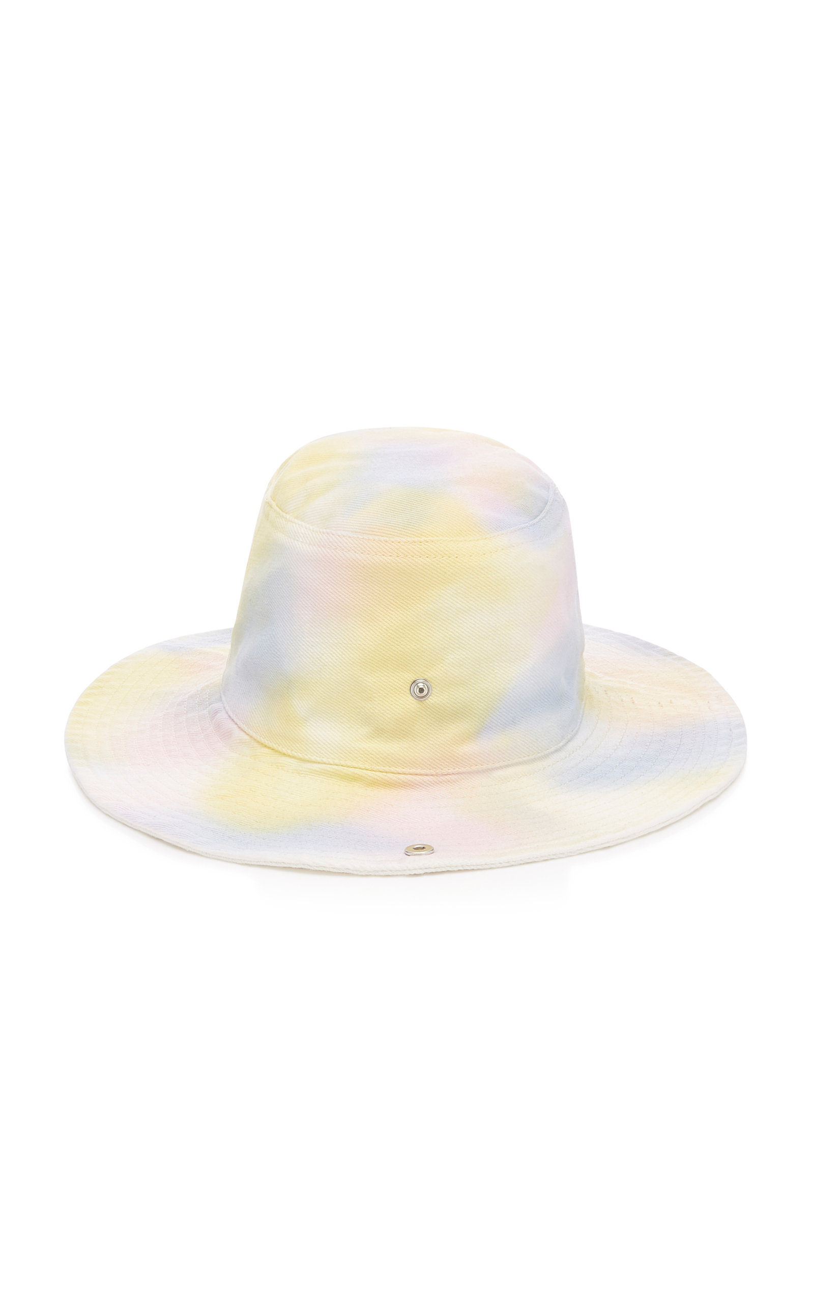 9d8bf1d0 Tie-Dye Cotton Bucket Hat by Ganni | Moda Operandi