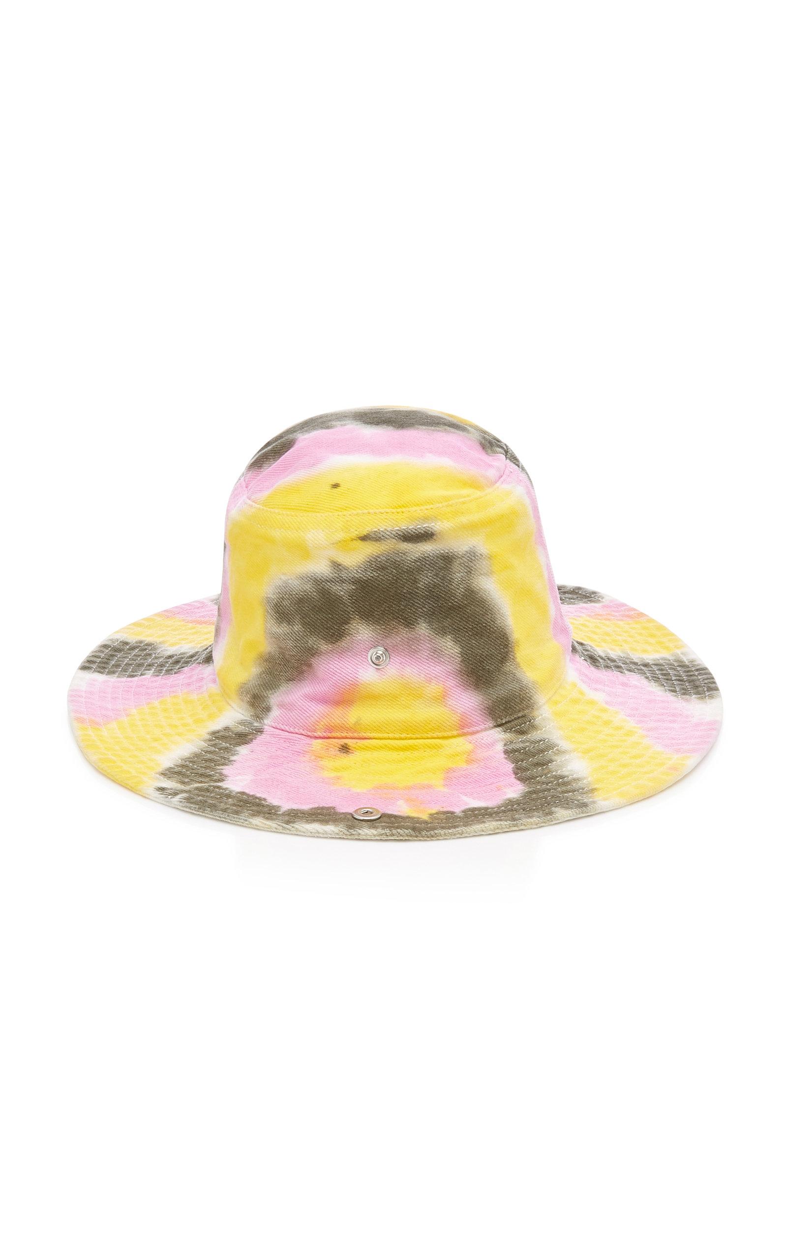 24f21b2a Ganni Tie-Dye Cotton Bucket Hat | £144.00 | Port