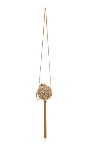 OSCAR DE LA RENTA | Oscar de la Renta Billiard Embellished Silk Sequin Clutch | Goxip