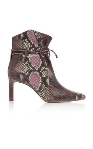 730d04c4636 Datsy Metallic Leather Ankle Boots by Isabel Marant | Moda Operandi
