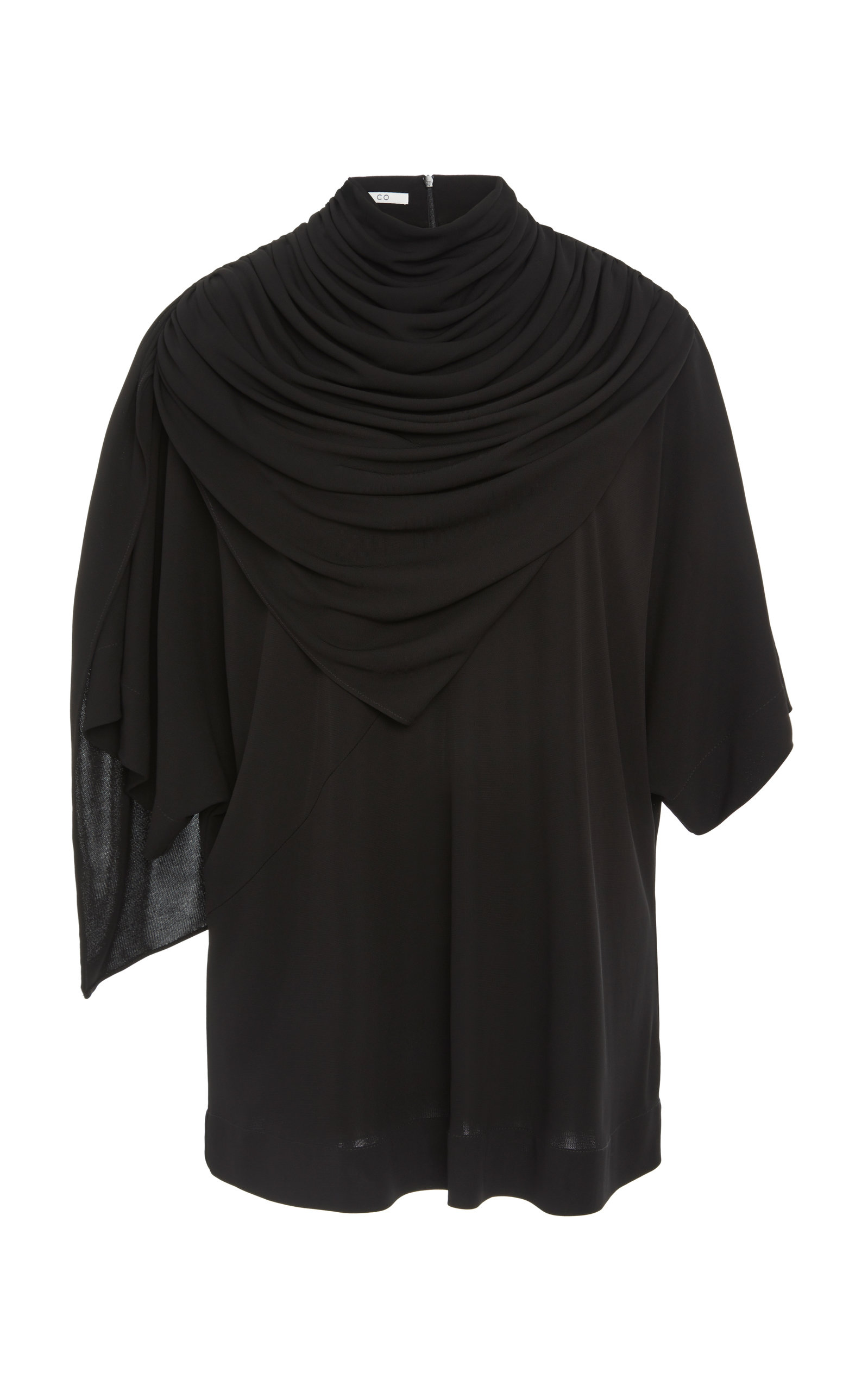 Co DRAPE-NECK TOP