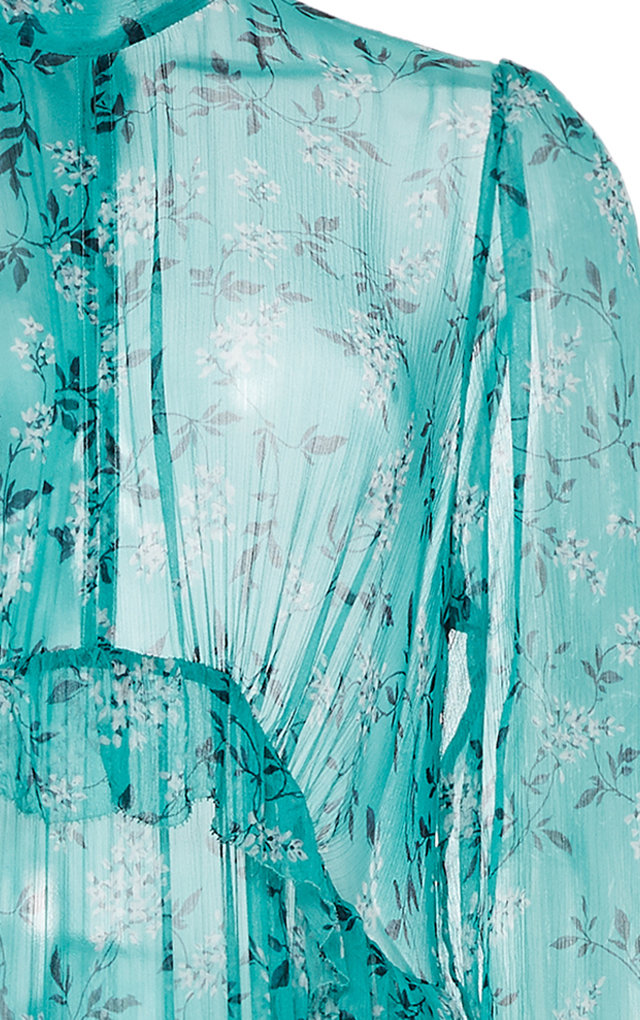 1844ec0512fc6d Moncur Ruffle Silk-Chiffon Maxi Dress by Zimmermann | Moda Operandi