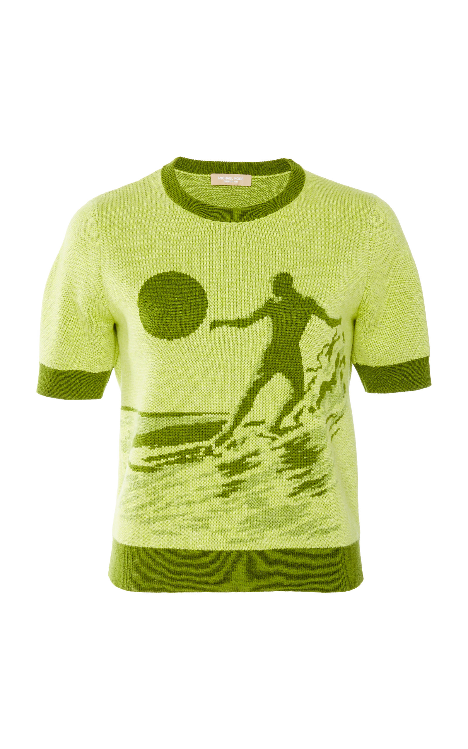 Surfer Cotton-and-Wool-Blend Tee