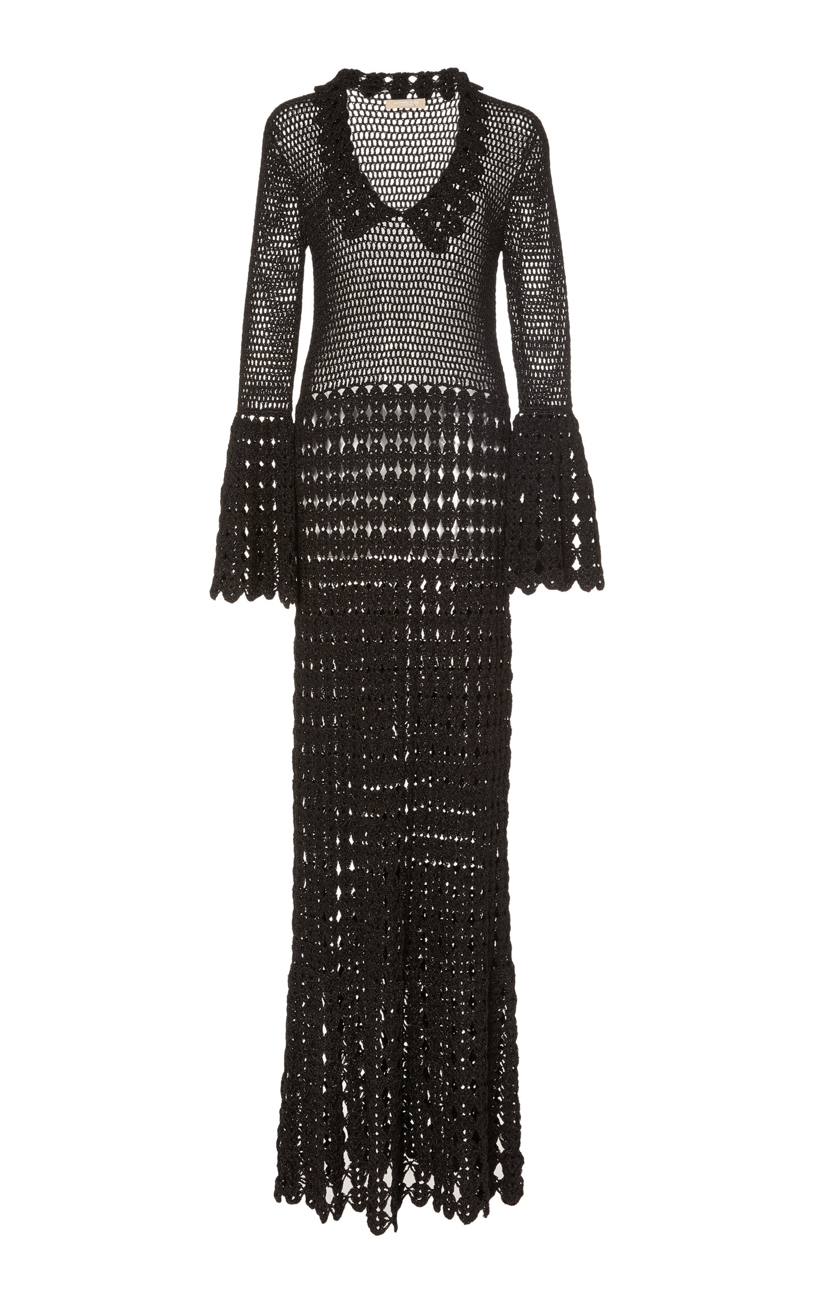 499994e415d Crocheted Cotton Maxi Dress By Michael Kors Collection Moda Operandi