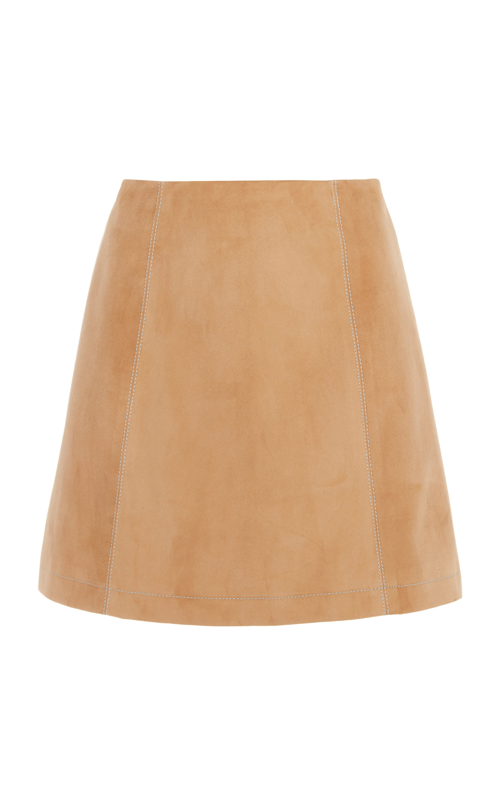 Carolina Herrera SUEDE MINI SKIRT