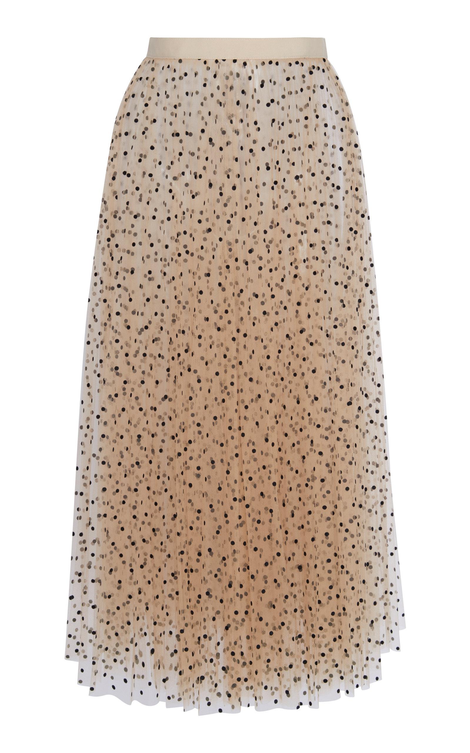 334a581e5 Full Midi Skirt In Brocade