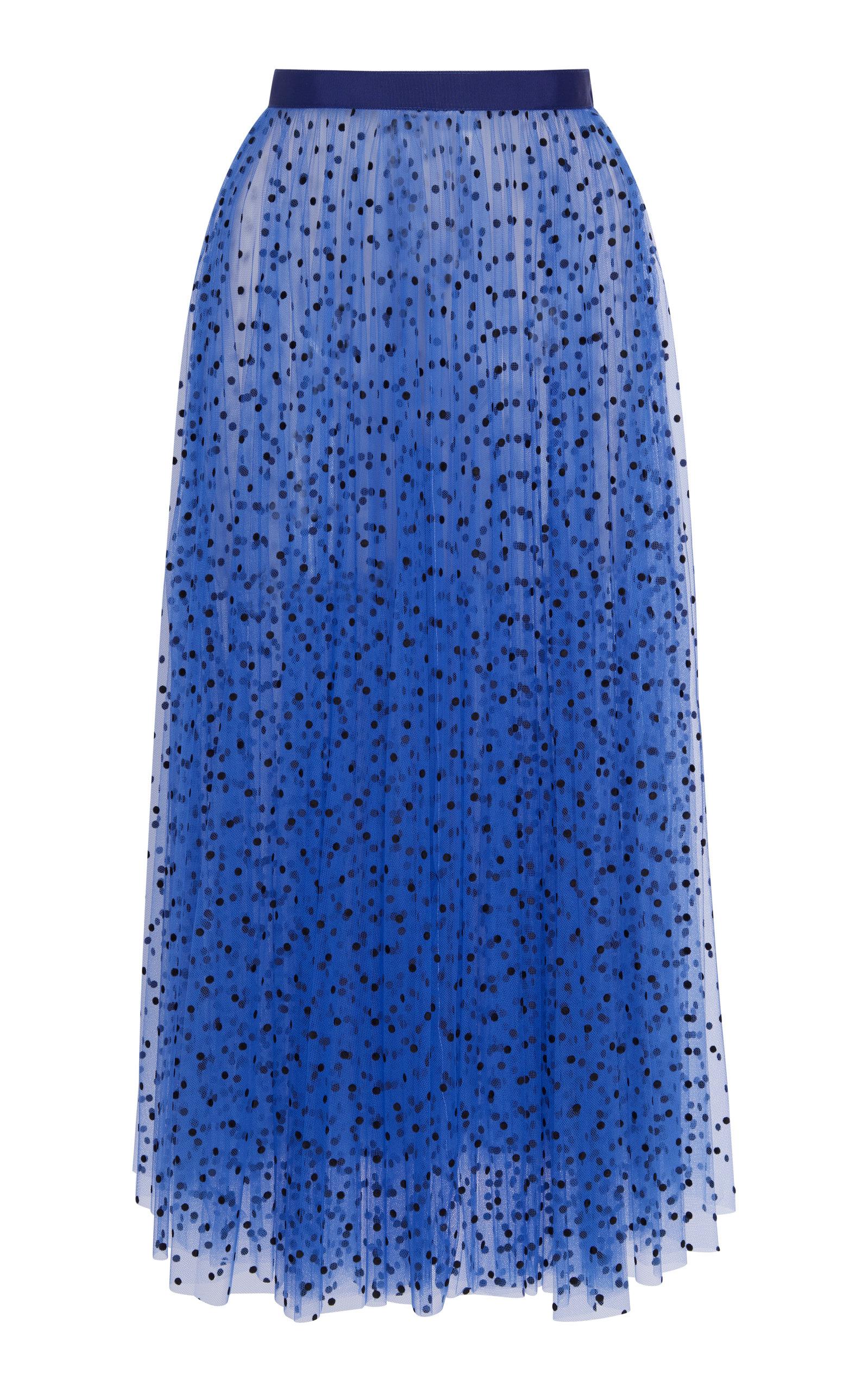 83e07c0bd Elisabetta Dotted Tulle Midi Skirt by Khaite | Moda Operandi