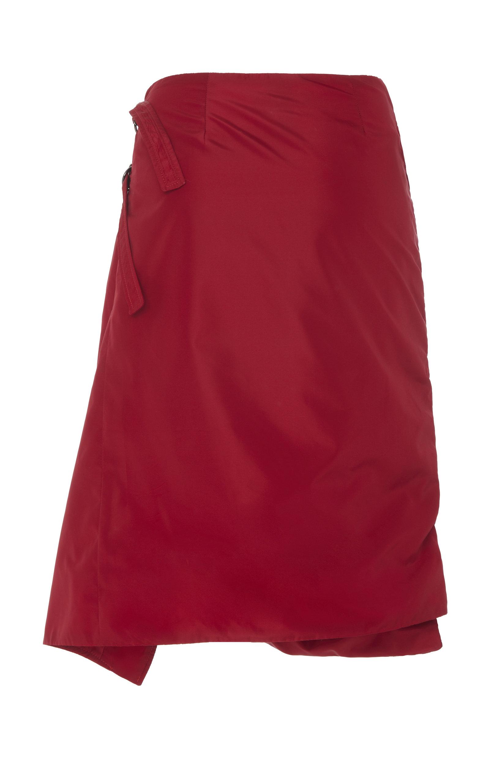 0a0b0f033c Pyer MossTufted Satin Wrap Skirt. CLOSE. Loading. Loading