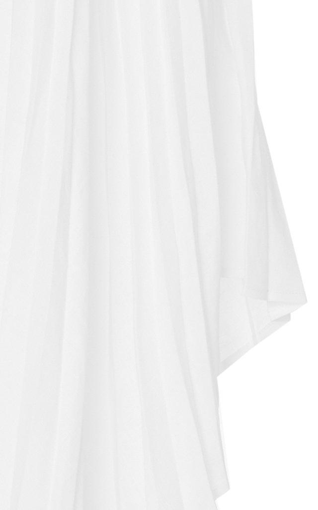 4f83743ca0 High-Low Plisse Napkin-Hem Skirt by Pyer Moss | Moda Operandi