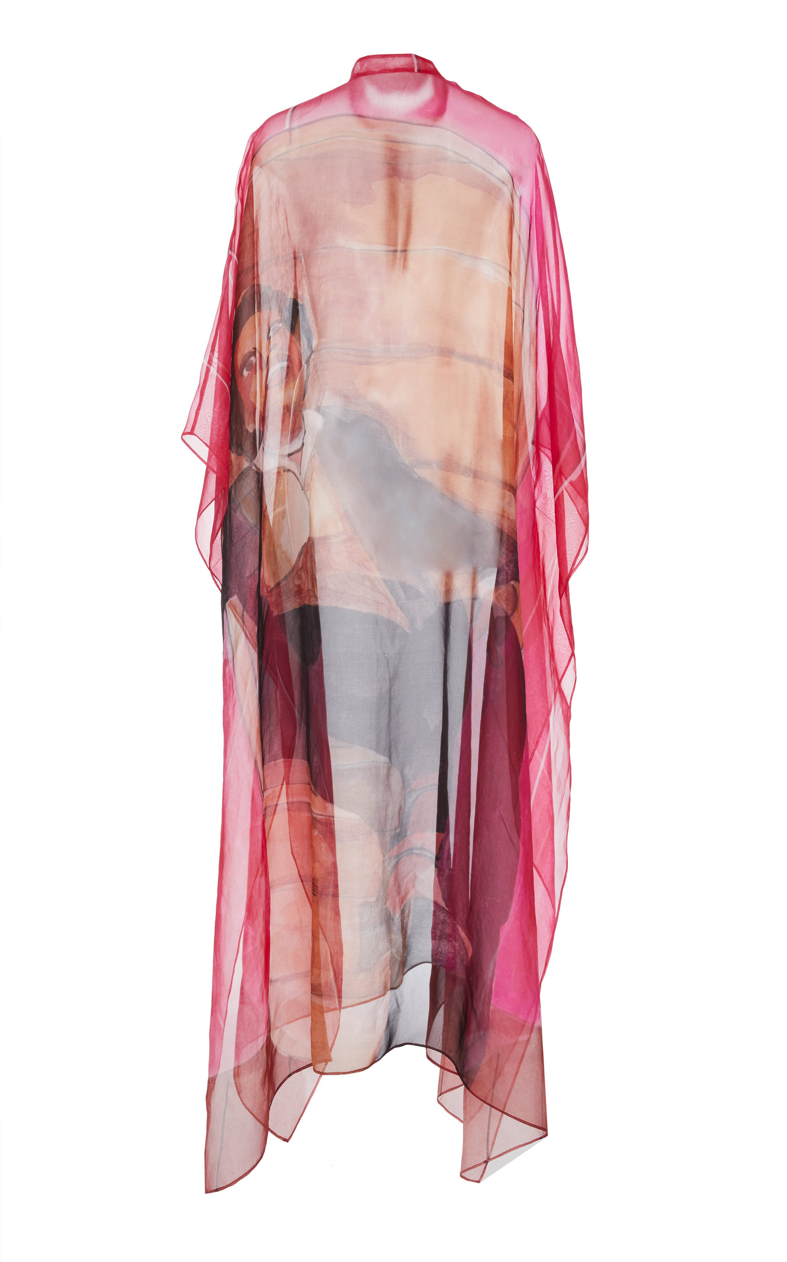 e9af9128d9695a Pyer MossPrinted Silk Poncho. CLOSE. Loading. Loading