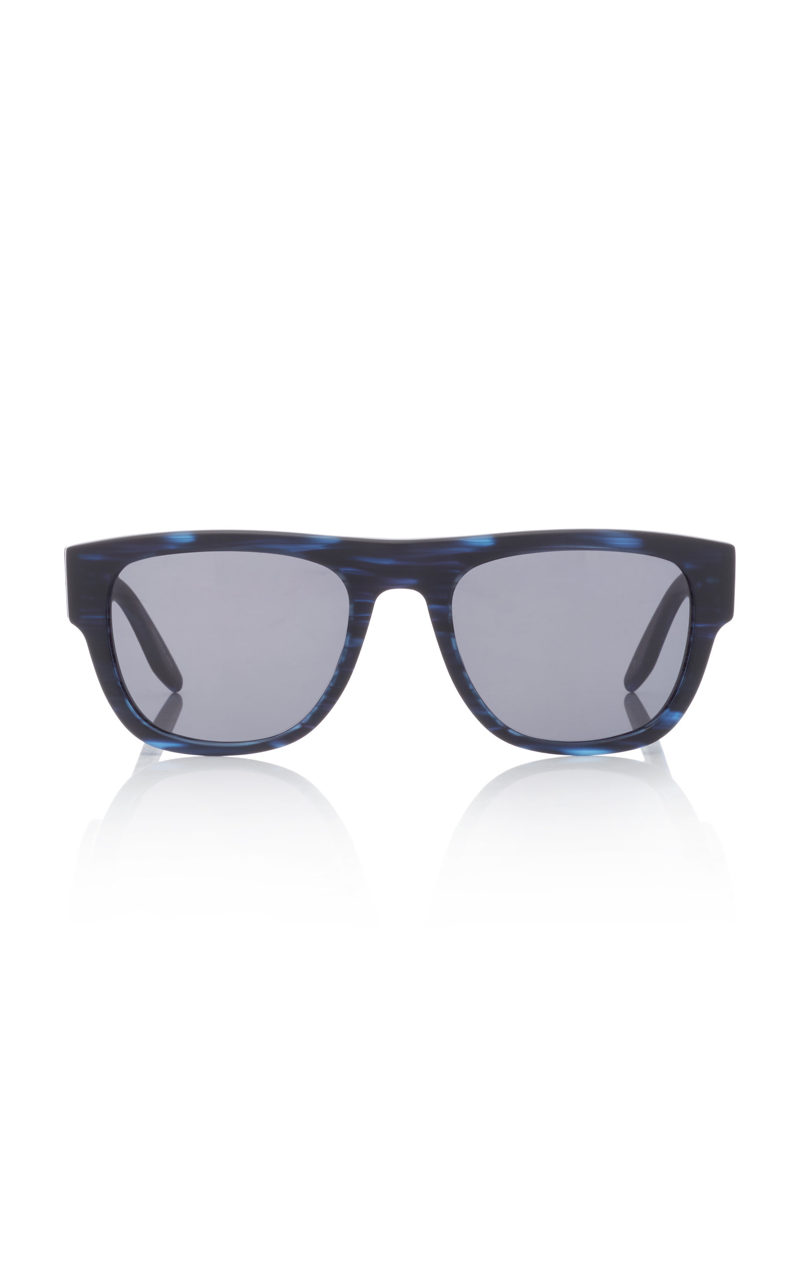 BARTON PERREIRA Kahuna 54Mm Rectangular Sunglasses in Blue