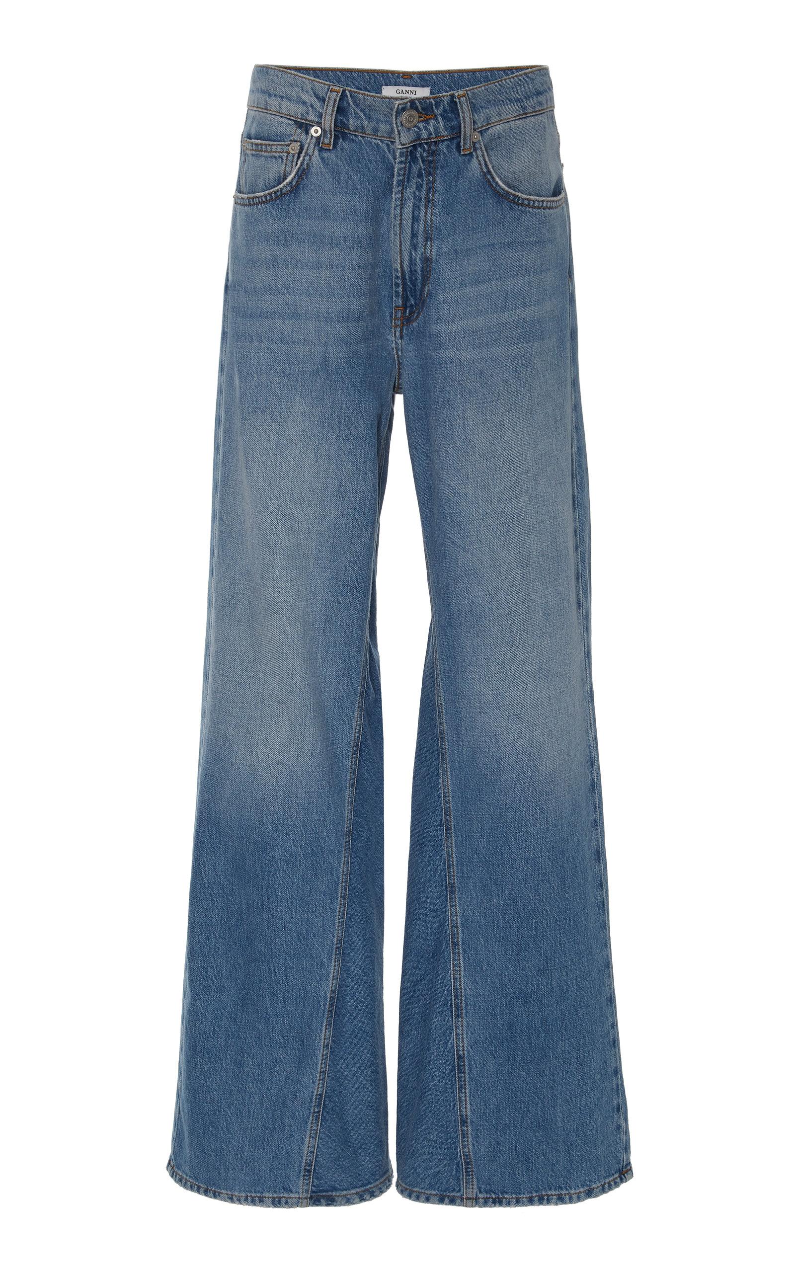 Ganni Jeans HIGH-RISE WIDE-LEG JEANS