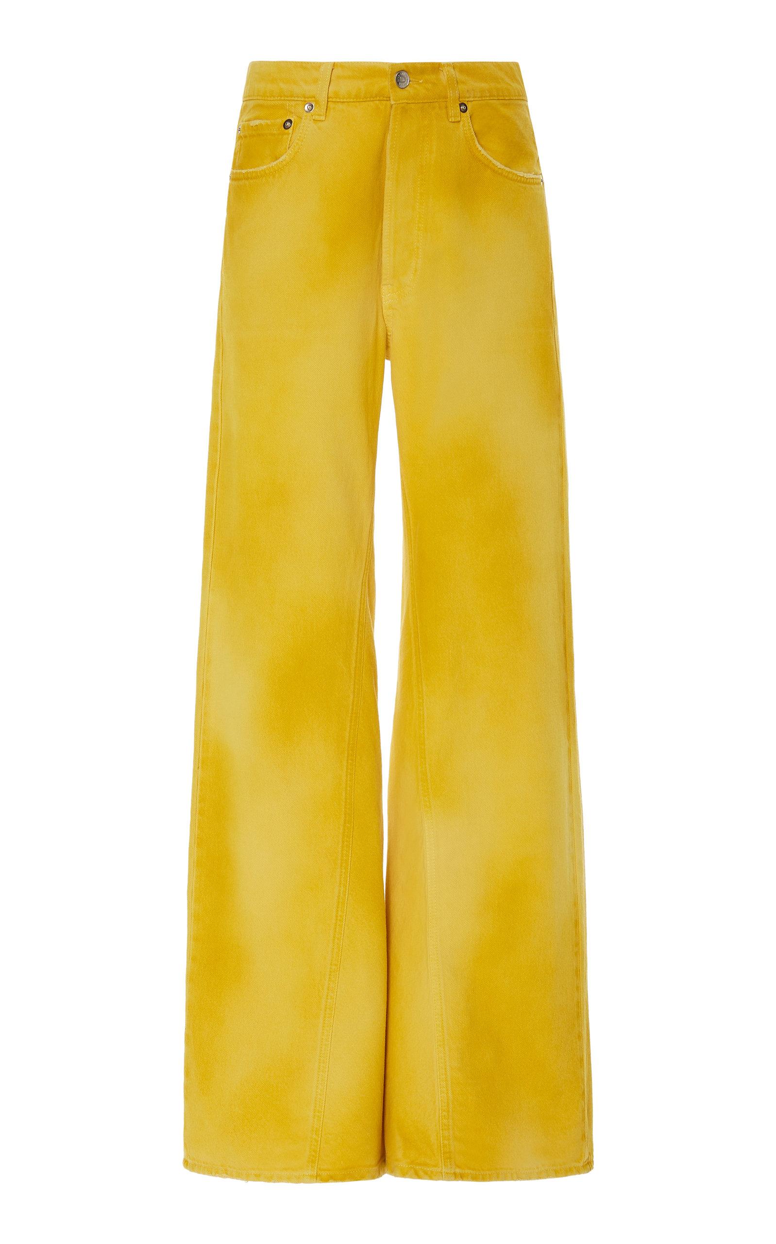 Ganni Jeans SHILOH HIGH-RISE WIDE-LEG JEANS