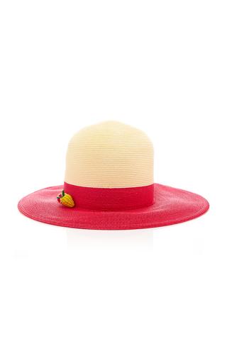 YESTADT MILLINERY | Yestadt Millinery Tableau Two-Tone Straw Hat | Goxip
