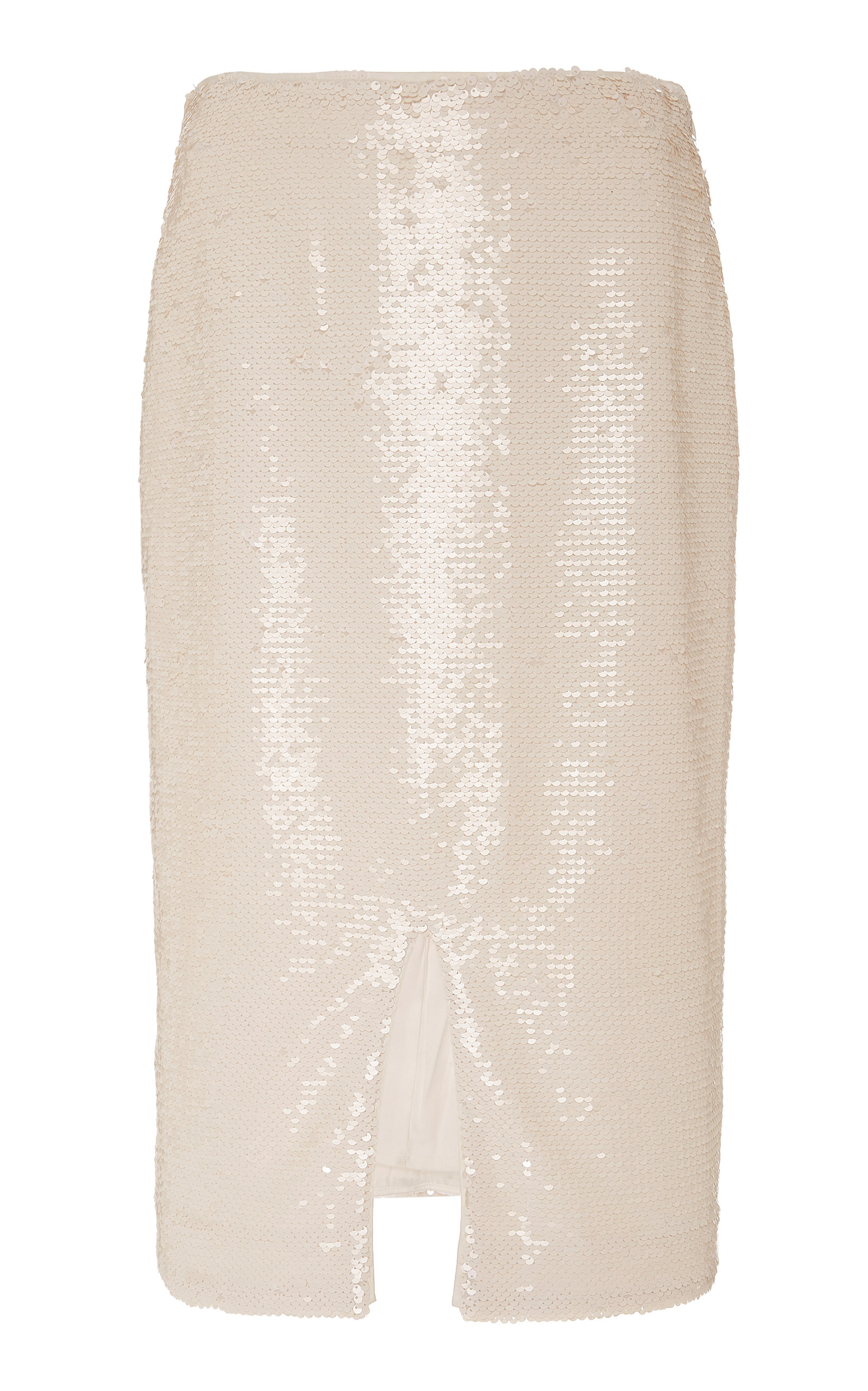Ganni Skirts SEQUINED CHIFFON SKIRT