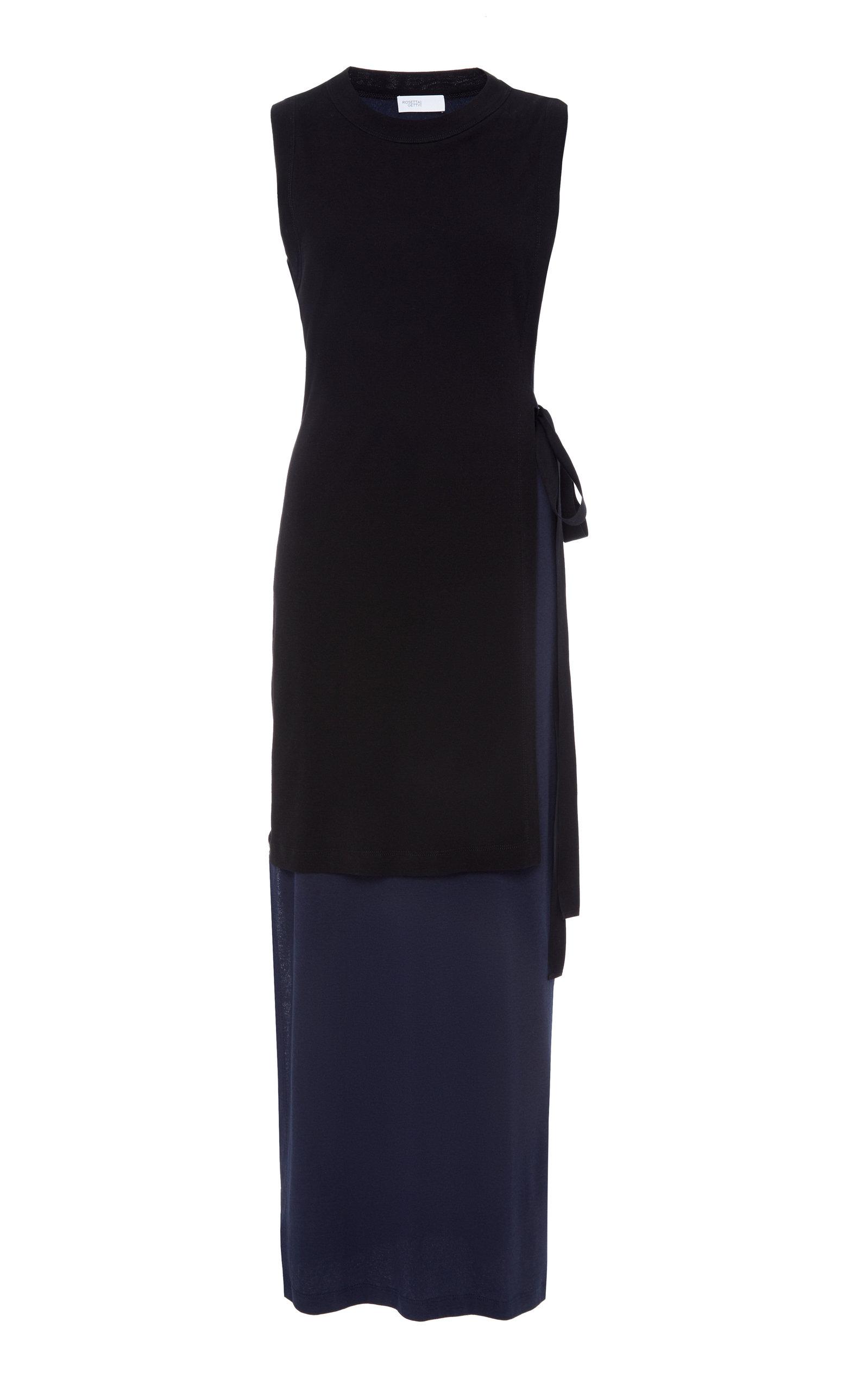 b59908cbda12e Rosetta GettyTie-Detailed Layered Cotton Dress. CLOSE. Loading