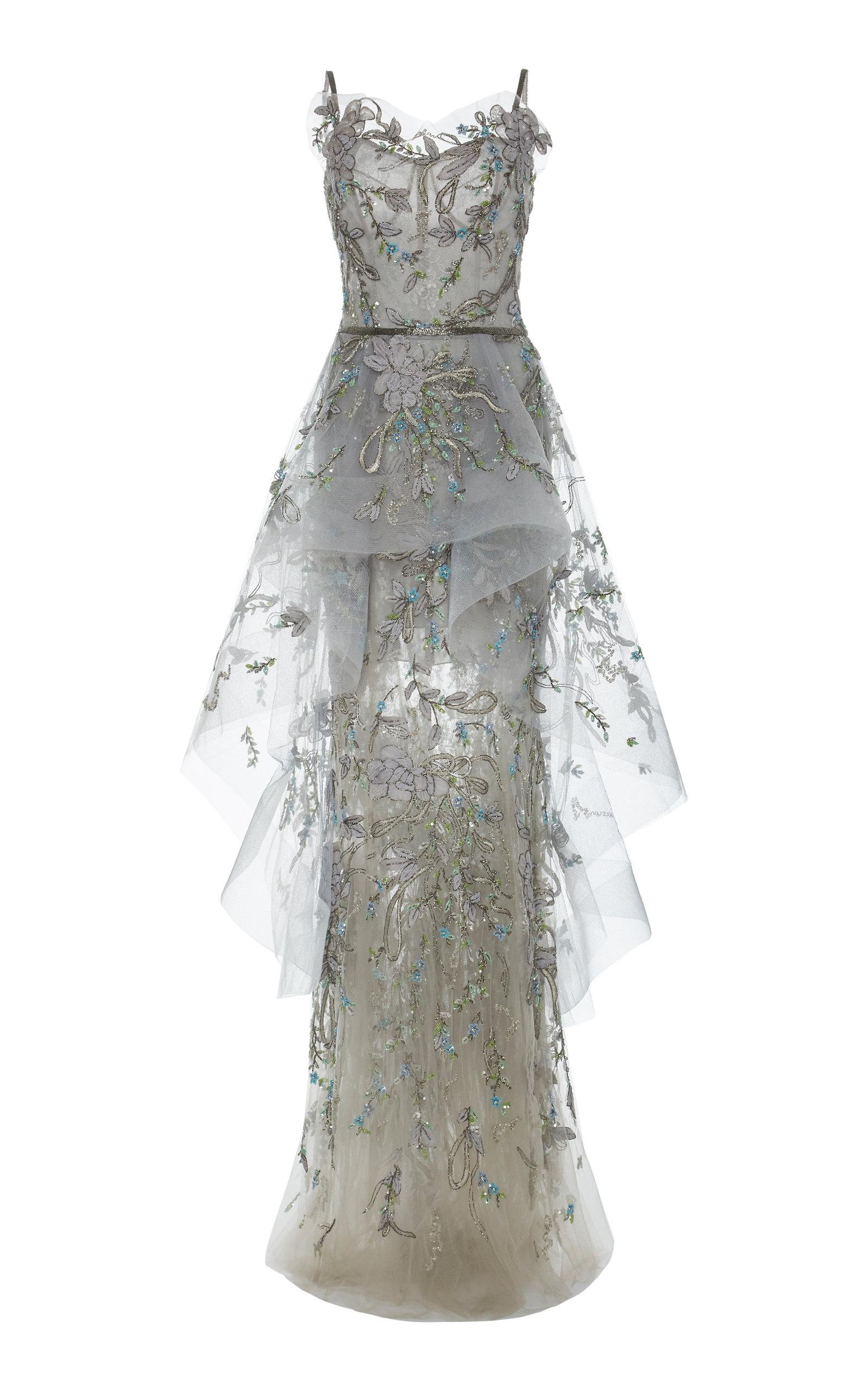 00492d6e29 Sweetheart Tulle Gown by Marchesa   Moda Operandi