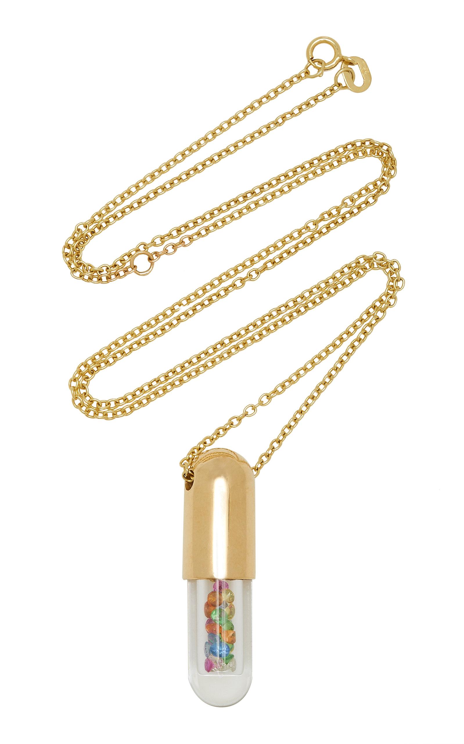 2c9ea474f Robinson Pelham9K Gold, Sapphire, Garnet, Tsavorite, And Diamond Necklace