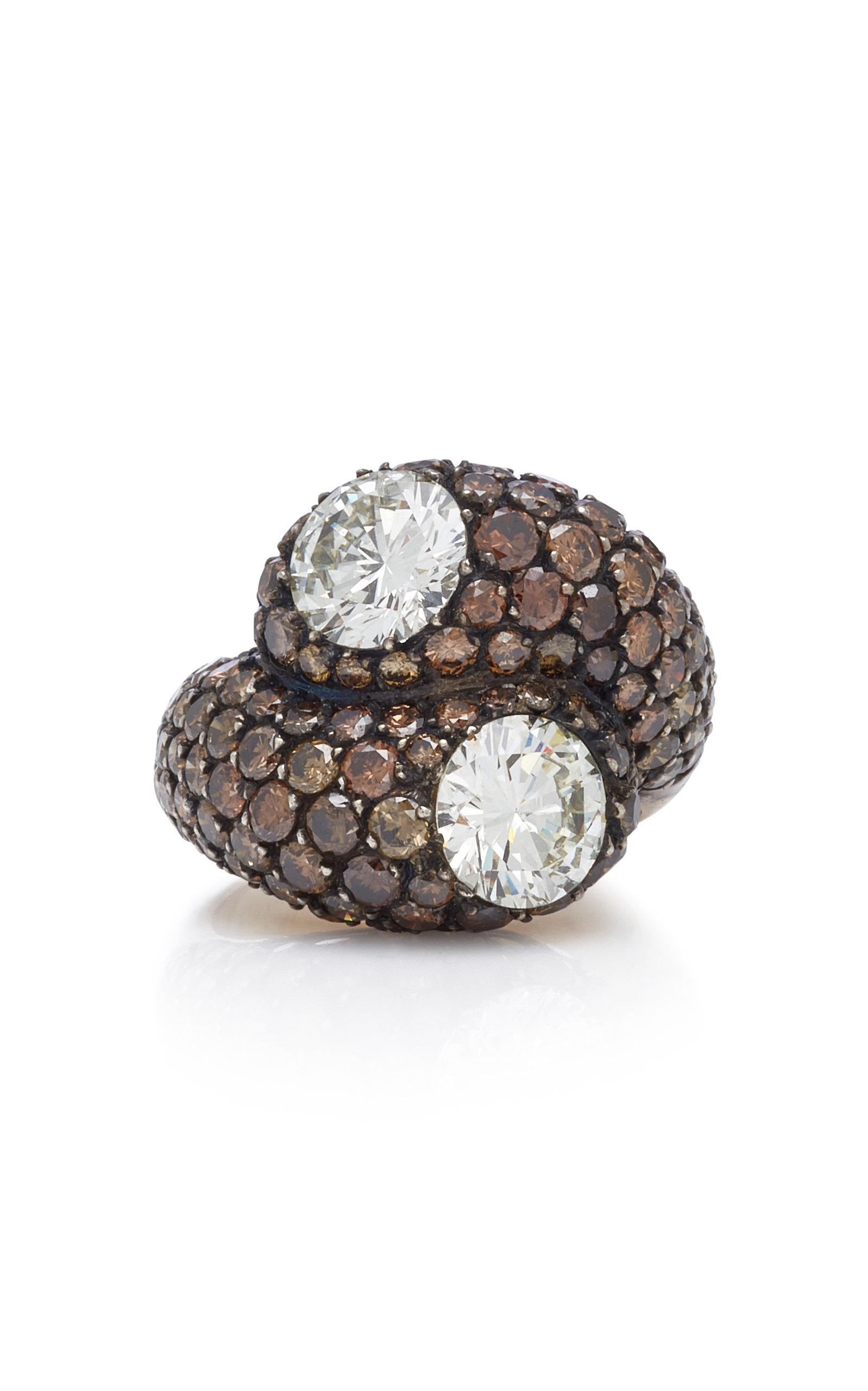 GIOIA | Gioia Sandrine 18K Gold And Diamond Ring | Goxip
