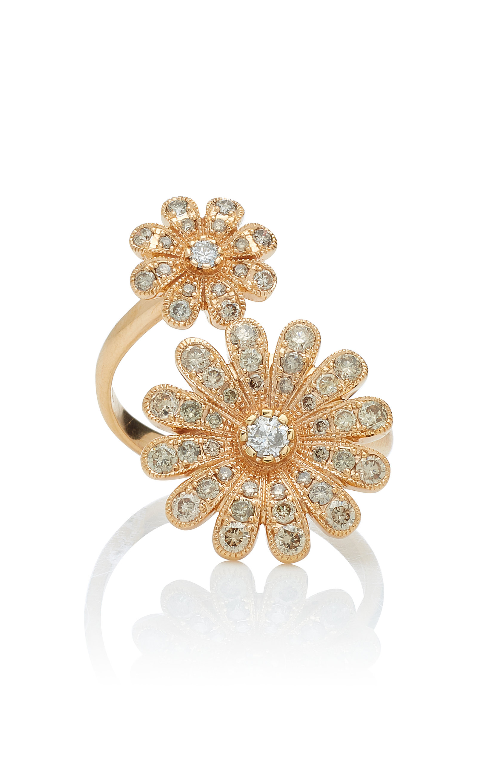 NAM CHO 18K Rose Gold And Diamond Ring