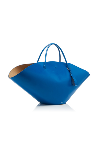 26160aa6c016 Grip East-West Leather Shopping Bag by Marni