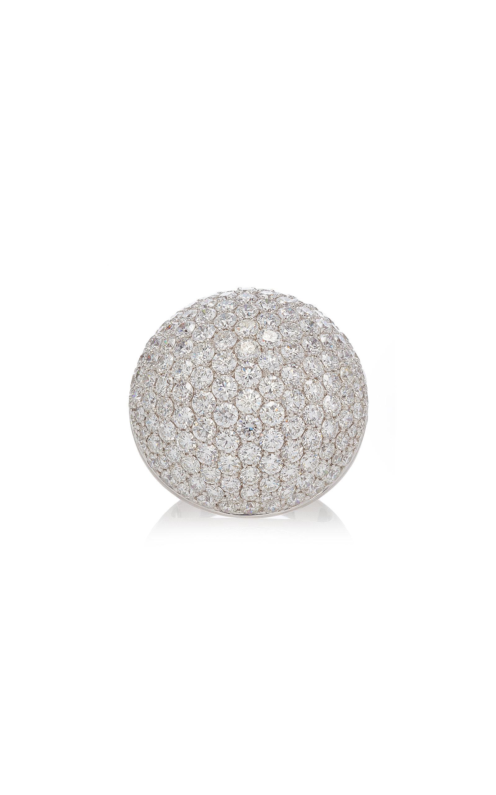 SABBADINI White Gold Diamond Ring