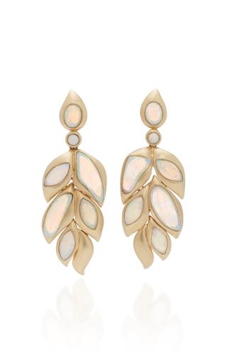 GOSHWARA   Goshwara 18K Gold and Opal Earrings   Goxip