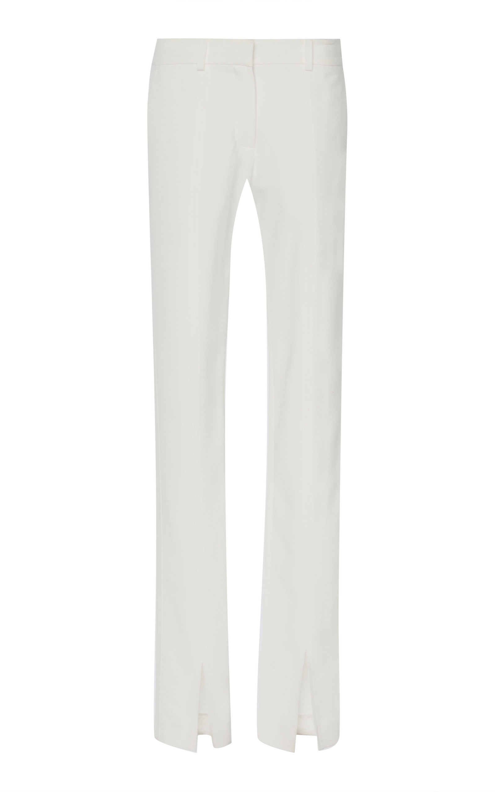 Victoria Beckham SKINNY SLIT-HEM PANTS