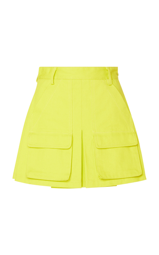 MATTHEW ADAMS DOLAN | Matthew Adams Dolan Cotton Mini Skirt | Goxip