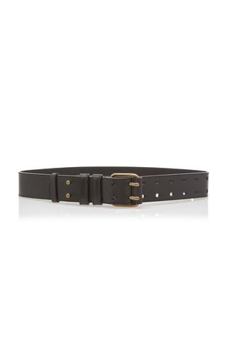 ALBERTA FERRETTI   Alberta Ferretti Leather Belt   Goxip