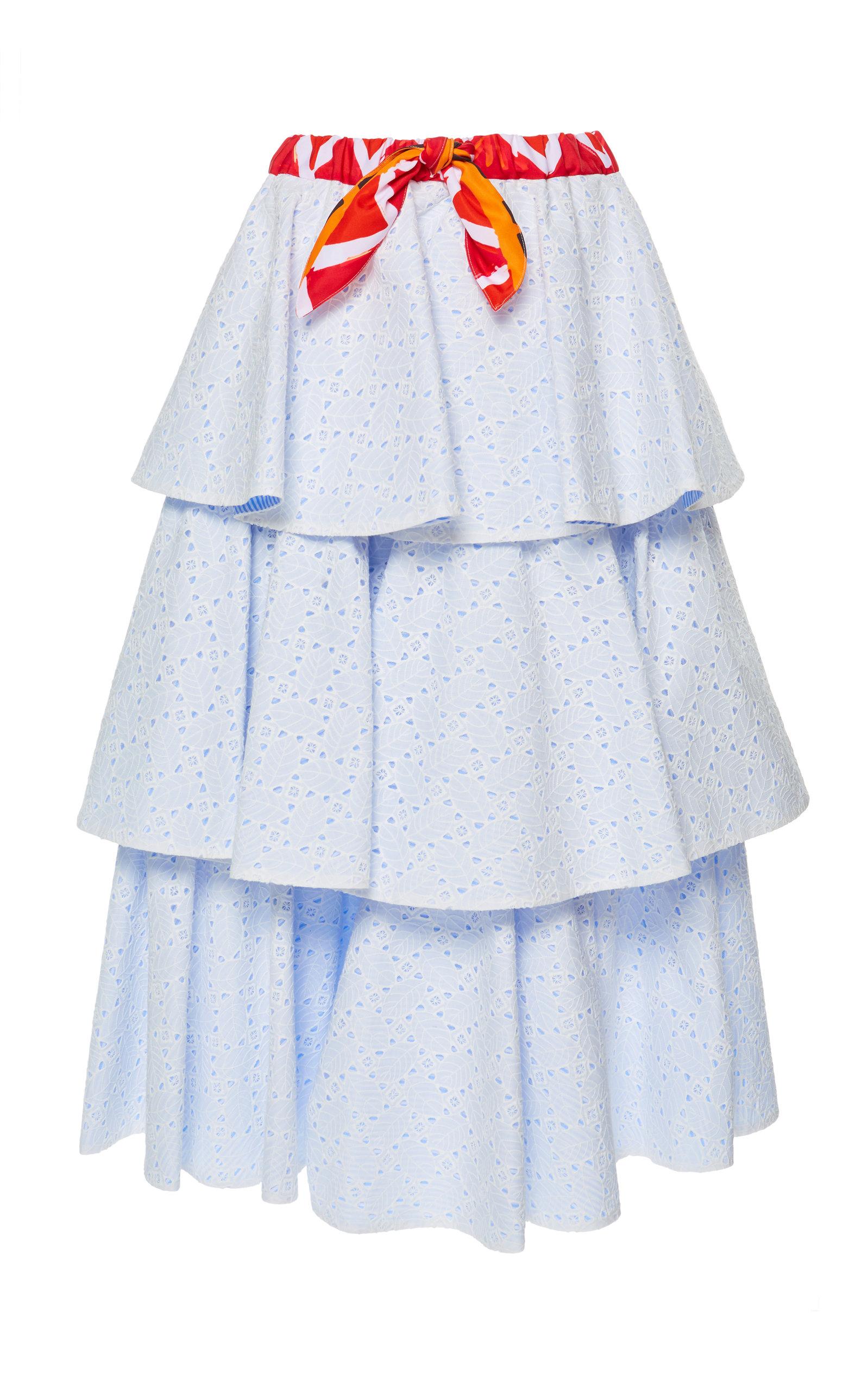 b56aeb1ab9 Sangallo Midi Skirt by Stella Jean | Moda Operandi