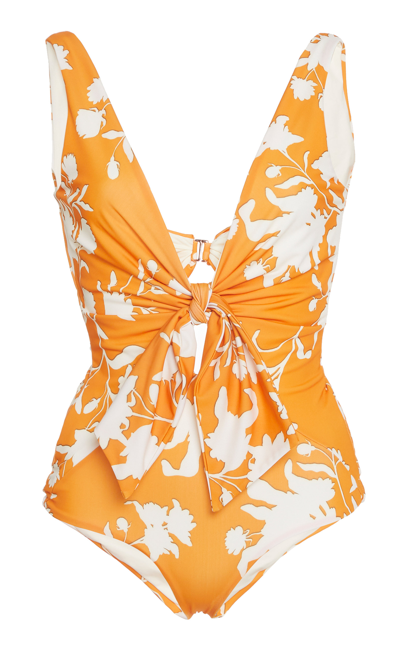 4c4c4bad37f9b Fable Of The Tropics Floral Lycra Swimsuit by Johanna Ortiz | Moda ...