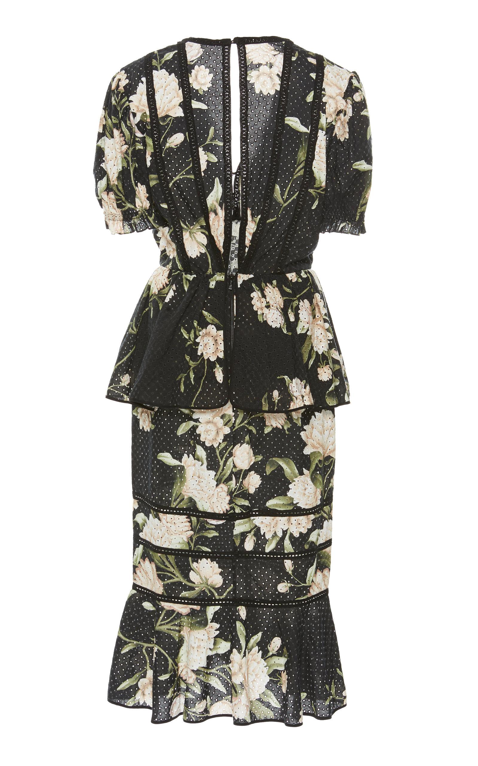 1c94aa74c6f Johanna OrtizOriental State Floral Cotton Eyelet Dress. CLOSE. Loading.  Loading. Loading