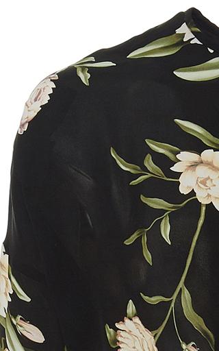 12628531282 Oriental State Floral Cotton Eyelet Dress by Johanna Ortiz