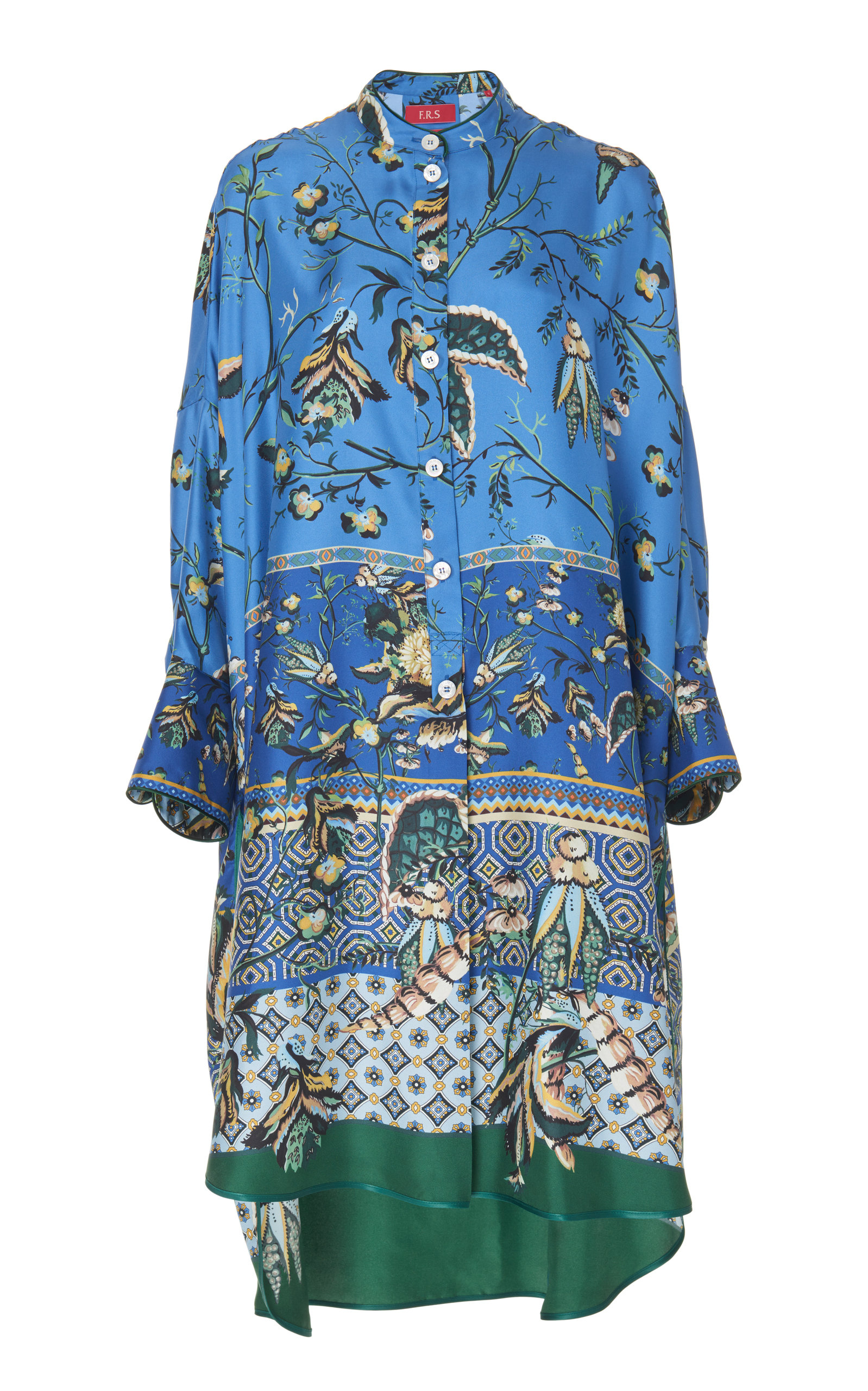 F.r.s For Restless Sleepers NOTO OVERSIZED SILK DRESS