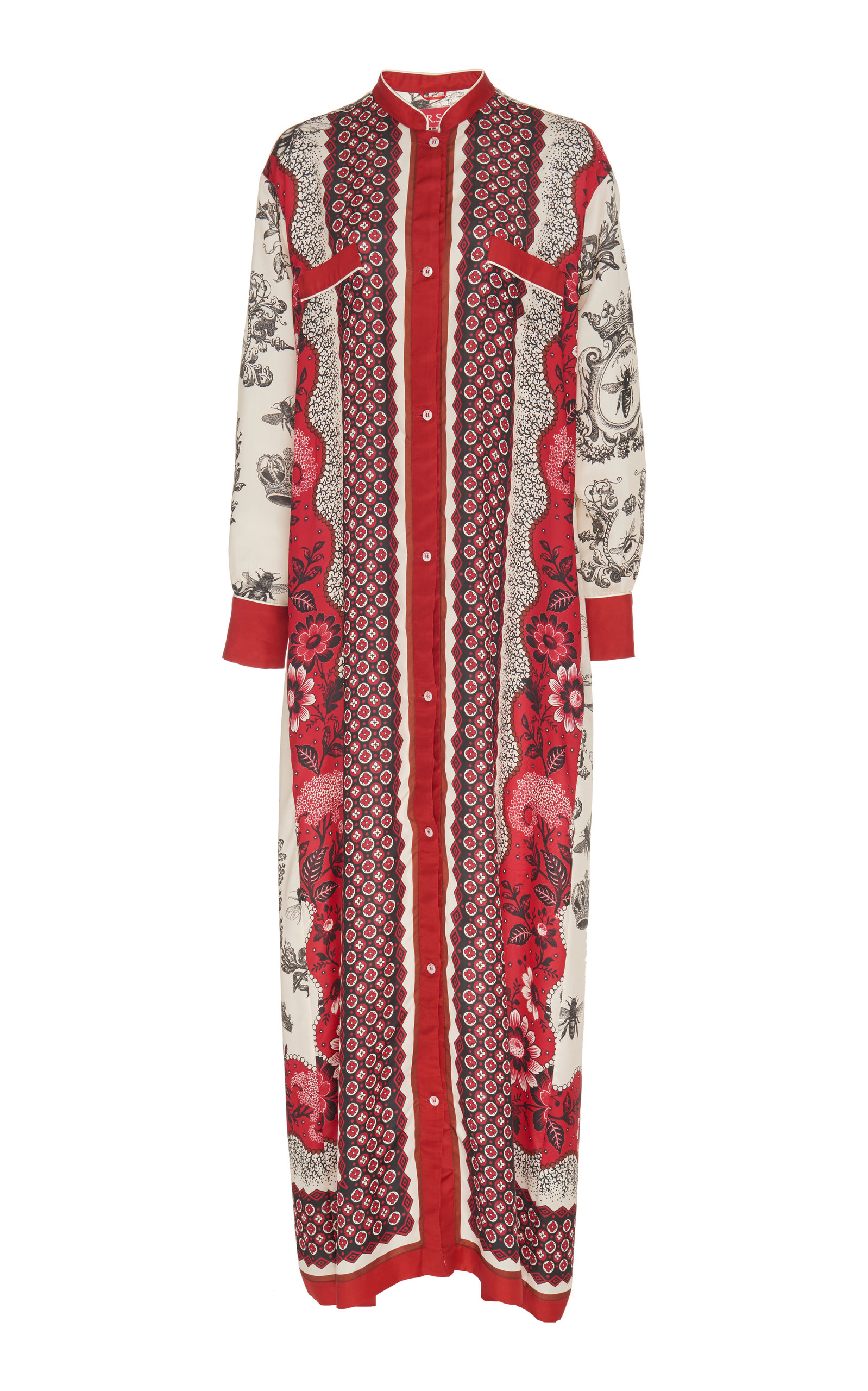 F.r.s For Restless Sleepers GALENE MAXI DRESS